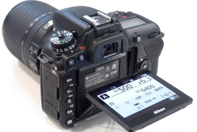 Lcd Tilt Screen Nikon D7500