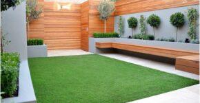 Tips Membuat Taman Minimalis Di Lahan Kecil Dengan Aksen Rumput Lapangan